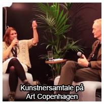Kustnersamtale på Art Copenhagen imellem Ole Lindboe og Anne Juul Christophersen
