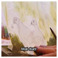 Tutorial videovejledning som viser dig, hvordan du kan male duer