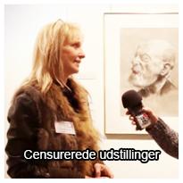Tema om censurerede udstillinger