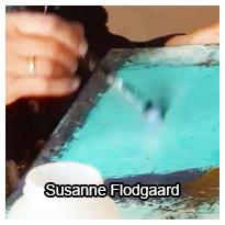 Teknik transfer på maleri