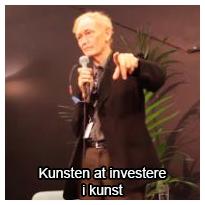 Foredrag ved Ole Lindboe: Kunsten at investere i kunst