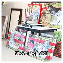 Tema om arbejdet med en udstilling