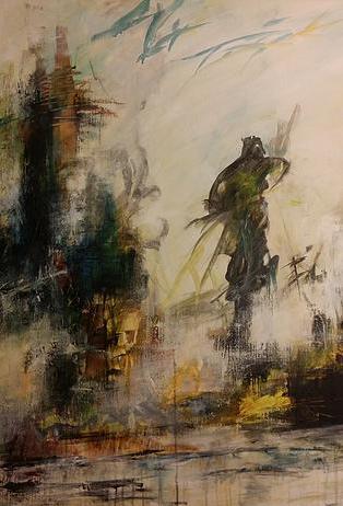 Iben Bjerre er månedens kunstner i Kunstskolen Annes Atelier