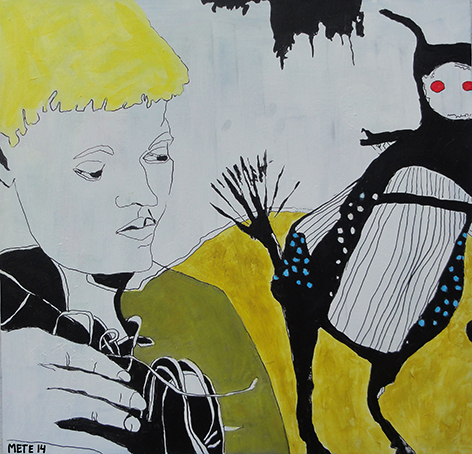 Månedens kunstner i Kunstskolen Annes Atelier