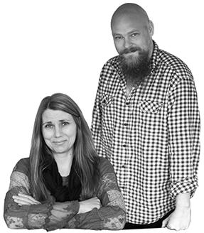 Anne Juul Christophersen og Jesper Christophersen