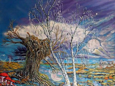Josef Kowalski er månedens kunstner i Kunstskolen Annes Atelier