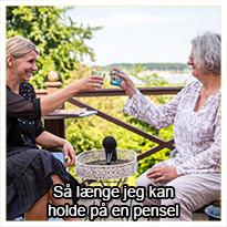 Kunst har altid spillet en stor rolle i Lene Bodekær Herlers liv, men det var først da hun nærmede sig pensions-alderen, at hun for alvor begyndte at folde sig ud som udøvende kunstner, efter at have deltaget i et kursus hos Anne.  I dag er Lene gået all in på kunsten og er også medejer af Galleri Guldgåsen i Svendborg.  I dette tema skal du møde Lene og høre den inspirerende historie om hendes liv, hendes kunst, hendes galleri og om, hvorfor kunsten er så vigtig for hende i dag.