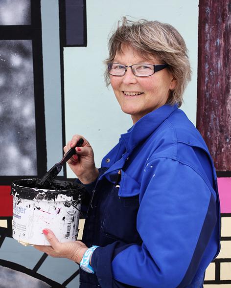 Annette Beier Liisberg er månedens kunstner i Kunstskolen Annes Atelier