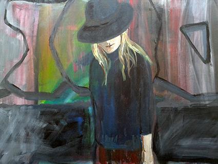 Inge Willemse Larsen er månedens kunstner i Kunstskolen Annes Atelier
