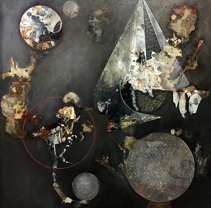 Jytte Nielsen er månedens kunstner i Kunstskolen Annes Atelier