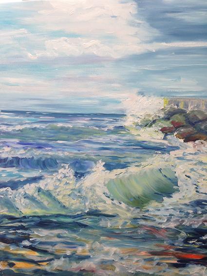 Hanne Sønder er månedens kunstner i Kunstskolen Annes Atelier