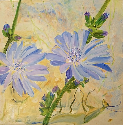 Majlis Dybkjær er månedens kunstner i Kunstskolen Annes Atelier