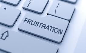 Se din frustration i øjnene