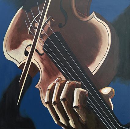 Virtuoso - værk af Majbritt Biegel