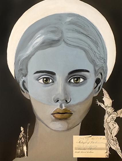 Christina Rantil Smith er månedens kunstner i Kunstskolen Annes Atelier