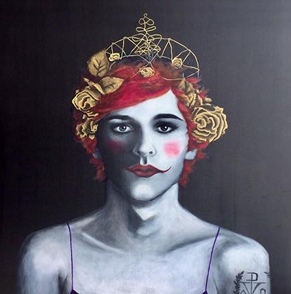 Henriette Hyldgaard er månedens kunstner i Kunstskolen Annes Atelier - november 2018