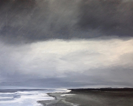 Dorthe Lund Kristensen er månedens kunstner i Kunstskolen Annes Atelier - december 2018