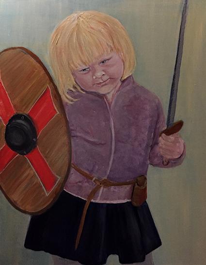 Marianne Lydia Nielsen er månedens kunstner i Kunstskolen Annes Atelier