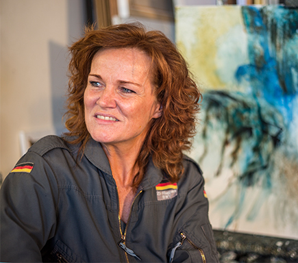 Malene Hammershøj underviser i Kunstskolen Annes Ateliers efterårssemester