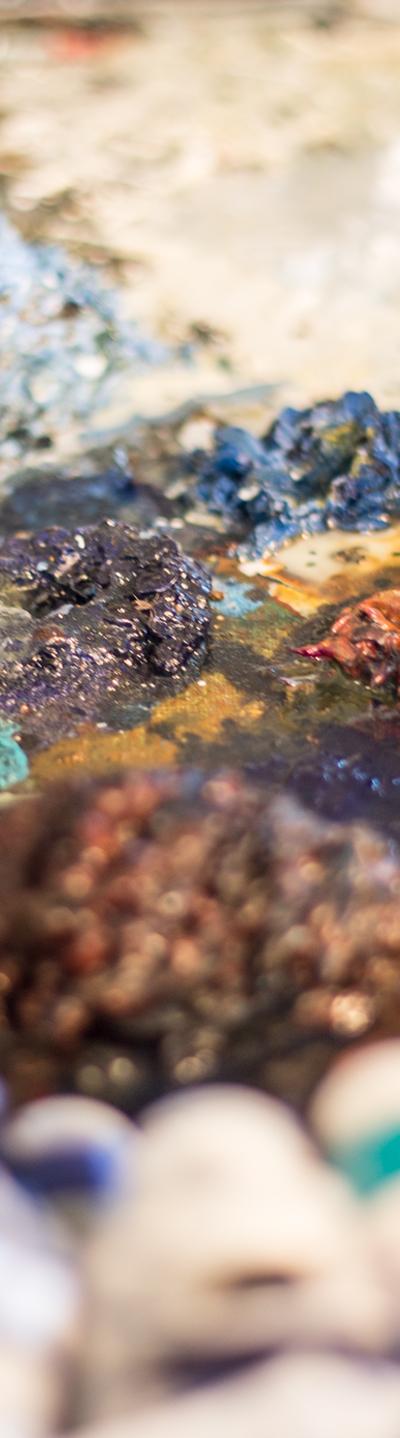 Få gang i dit oliemaleri med Malene Hammershøj i Kunstskolen Annes Atelier