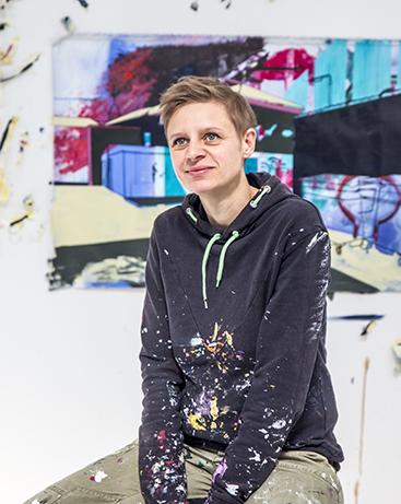 """Online-kurserne """"Alt er tilladt 1 + 2"""" - med billedkunstner Mette Rishøj"""