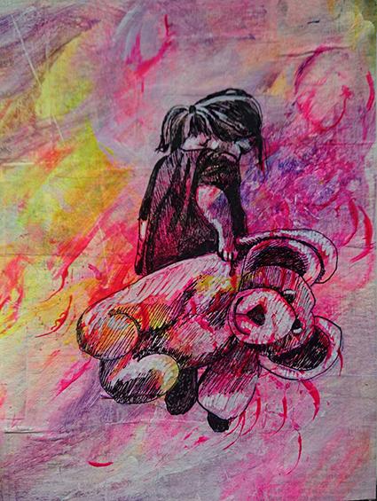 Randi Egebro Baltsersen er månedens kunstner i Kunstskolen Annes Atelier