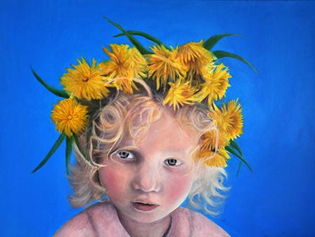 Gigi Gigja er månedens kunstner i Kunstskolen Annes Atelier