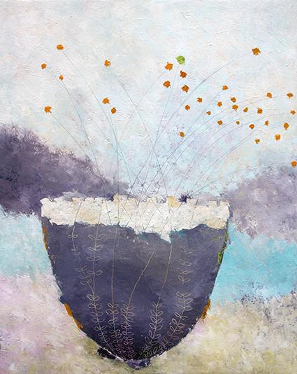 Susanne Flodgaard er månedens kunstner i Kunstskolen Annes Atelier