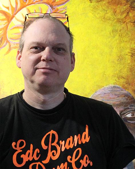 Knud Milo Diemer er månedens kunstner i Kunstskolen Annes Atelier