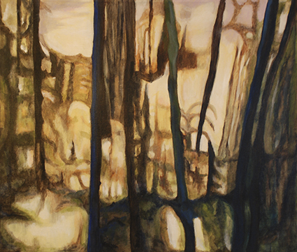 Isabelle Strauss er månedens kunstner i Kunstskolen Annes Atelier