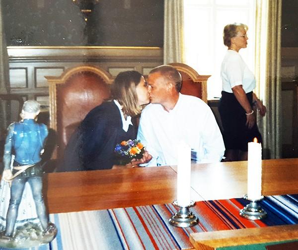 Den 15. juni 1999 – en smuk og varm sommerdag, blev Jesper og jeg gift på Assens Rådhus