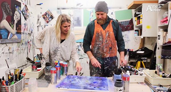 Find ind til kunstens DNA med Pabi Chulo og Kunstskolen Annes Atelier