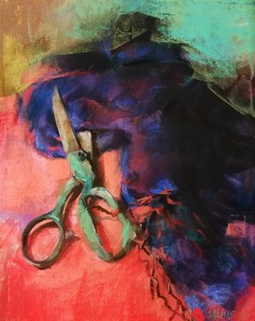 Pastelværk af Silja Salmistu