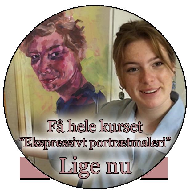 Ekspressivt portrætmaleri