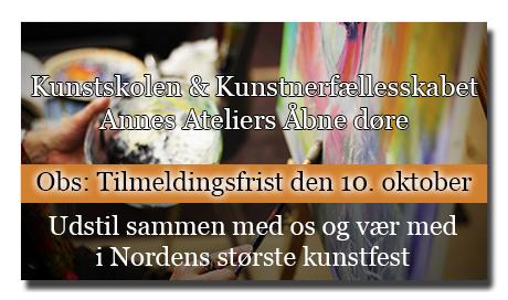 Udstil sammen med os - Åbne Døre - Nordens største kunstfest